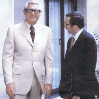 Arnold Grayson of Savile Row, Cary Grant's tailor from 1979 until his death in 1986