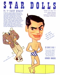 Cary Grant Paper Doll